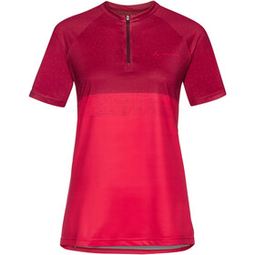 VAUDE Ligure Shirt Damen red cluster